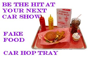 Fake Car Hop Trays