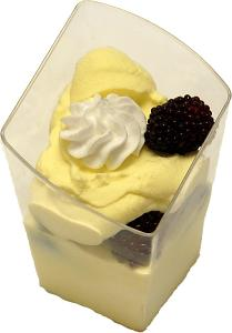 Mini Fake Dessert Custard Cups USA