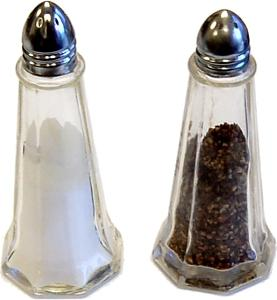 Salt and Pepper fake display items