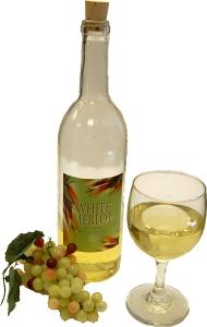 White Wine Set Glass fake drink USA