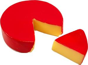 Fake Fontina with slice cheese