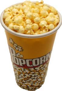 Small fake Popcorn Cup