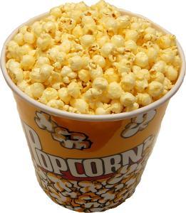 Large fake Popcorn Cup