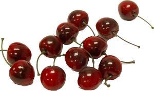 Cherry 24 Piece fake fruit