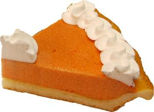 Pumpkin Pie Cream Artificial Pie Slice Fragrance