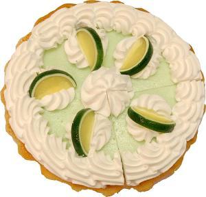 Key Lime Cream Fake Pie with Slice Fragrance