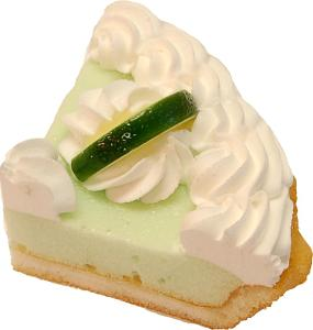 Key Lime Pie Fake Pie Slice USA