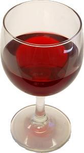 Fake Drink Red Wine