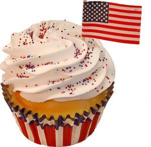 Made in America fake Cupcake