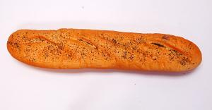 French Fake Bread 16 inch Poppy Seed
