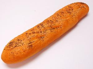 French Fake Bread 16 inch Poppy Seed 2