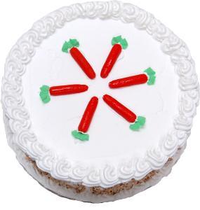 Carrot Fake Cake Passion Cake top
