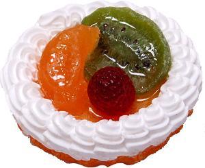 Mixed Fake Fruit Tart 3 inch