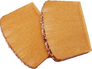 Artisan Fake Bread Wheat Slice 2 Piece