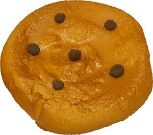 Fake Chocolate Chip Cookie