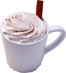 Fake Hot Chocolate Plastic Mug