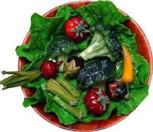 Bowl of Fake Salad