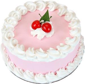 Cherry Fake Cake 9 inch