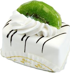 Mini Fruit Fakey Cake White