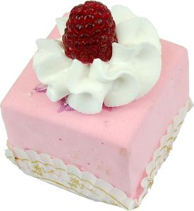 Mini Fruit Fakey Cake Pink