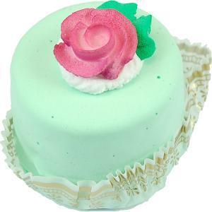 Mini Flower Fakey Cake Green