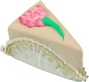 Mini Flower Fakey Cake Chocolate