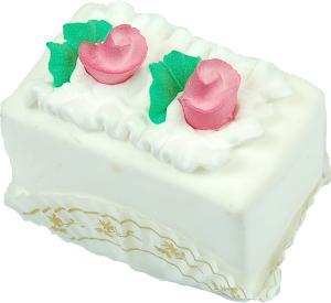 Mini Flower Fakey Cake Vanilla