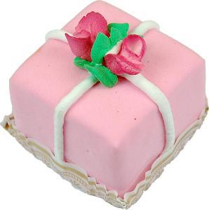 Mini Flower Fakey Cake Strawberry