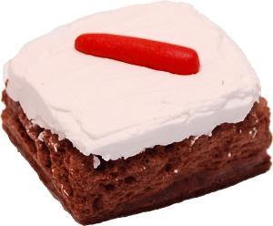 Carrot Cake Fake Brownie