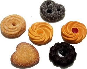 Fake Cookies Assorted 6 pack