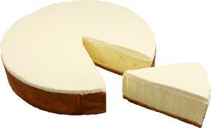 New York Fake Food Cheesecake with Slice 10 Inch USA