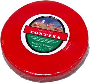 Fontina Wheel Fake Cheese