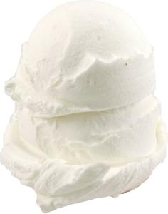 Vanilla 2 Scoop Fake Ice Cream NO CONE