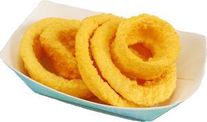 Onion Rings Fried 5 piece fake food USA
