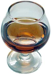 Brandy Glass fake drink USA