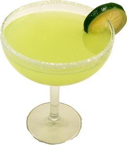 Margarita Glass Fake Drink Display