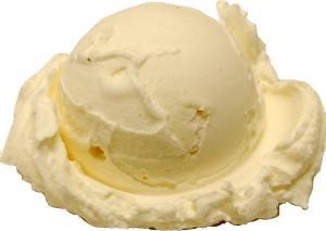 Vanilla Single Scoop Fake Ice Cream NO CONE