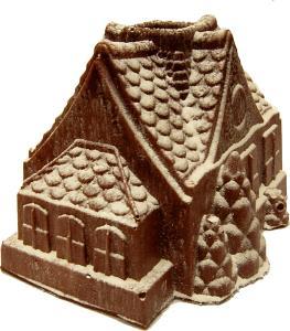 gingerbread house fake food b