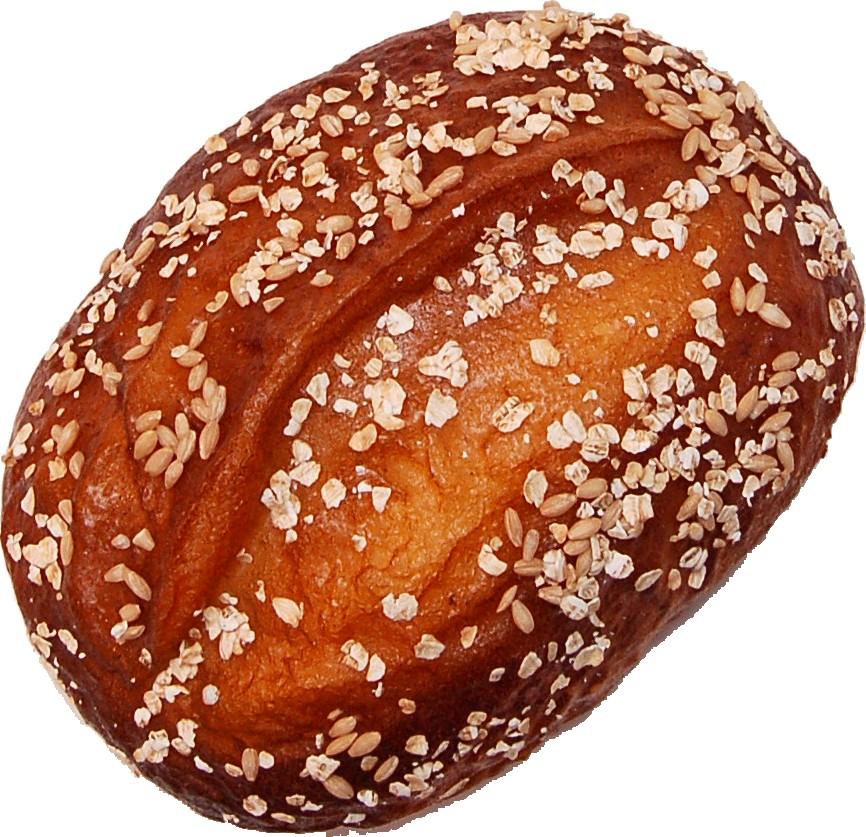 Artisan Fake Bread Roll 8 inch Top