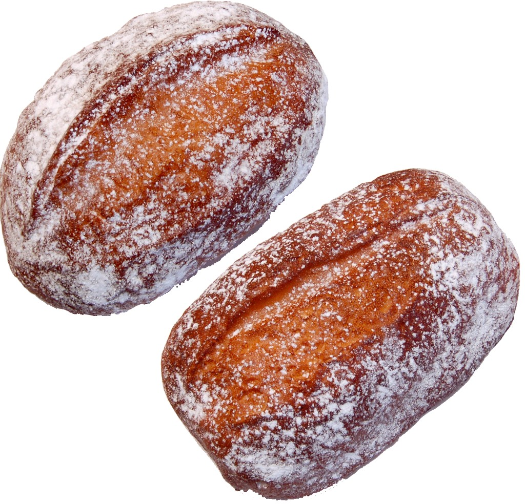 Rustic Fake Bread Loaf 8-1/2 inch Two Pack