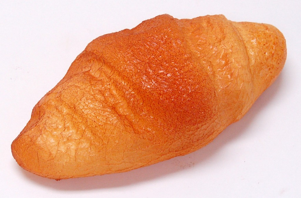 Croissant Straightened Fake Bread