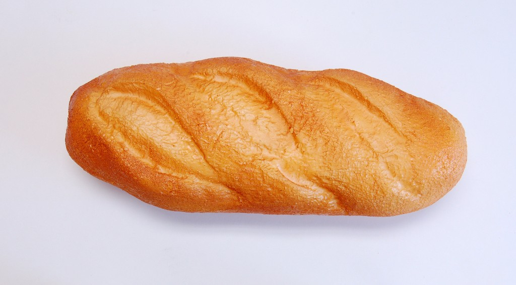"""French Loaf 11"""" Plain Fake Bread"""