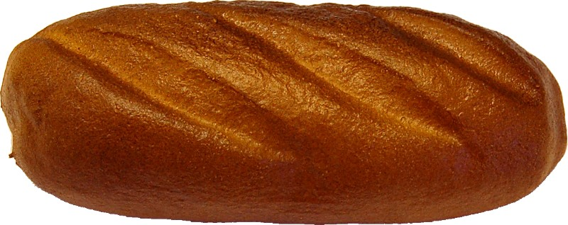 Fake Bread Roll Soft Touch Style B