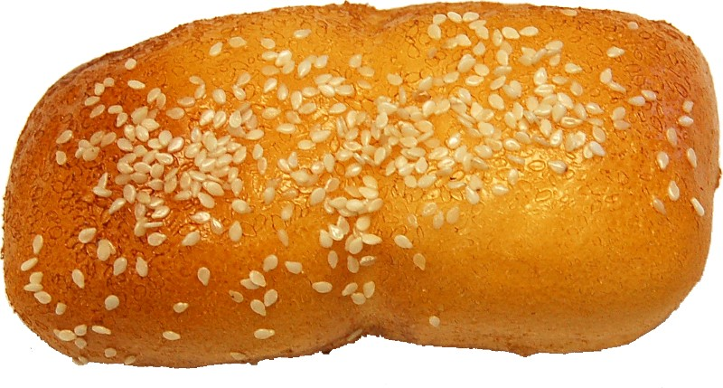Sesame Loaf Roll fake Bread Soft Touch