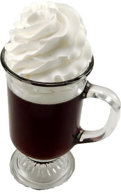 Irish Coffee Fake Drink