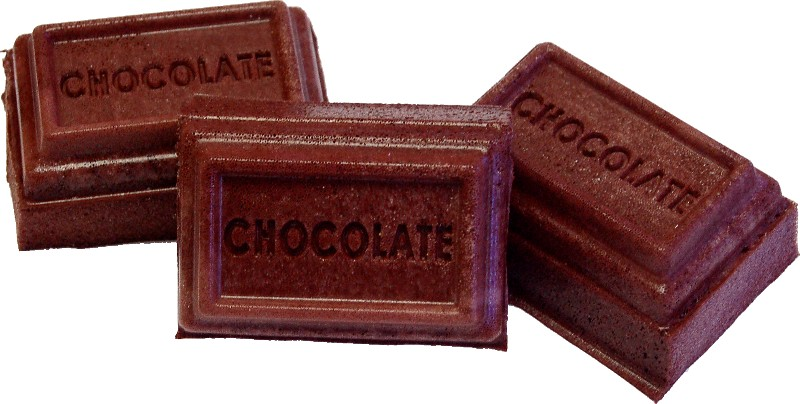 Chocolate Bars fake food