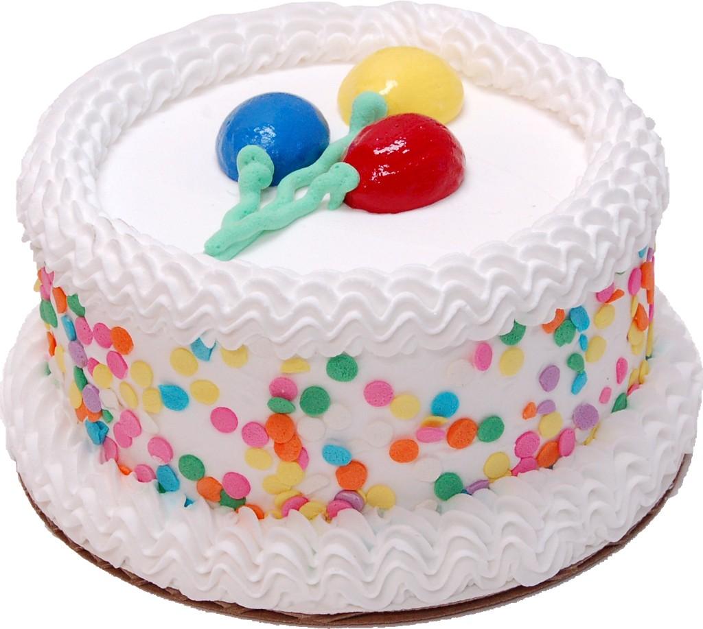 """Celebration Vanilla 6"""" Fake Cake"""