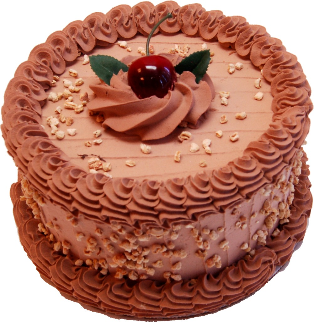 Mocha Fake Cake 7 Inch