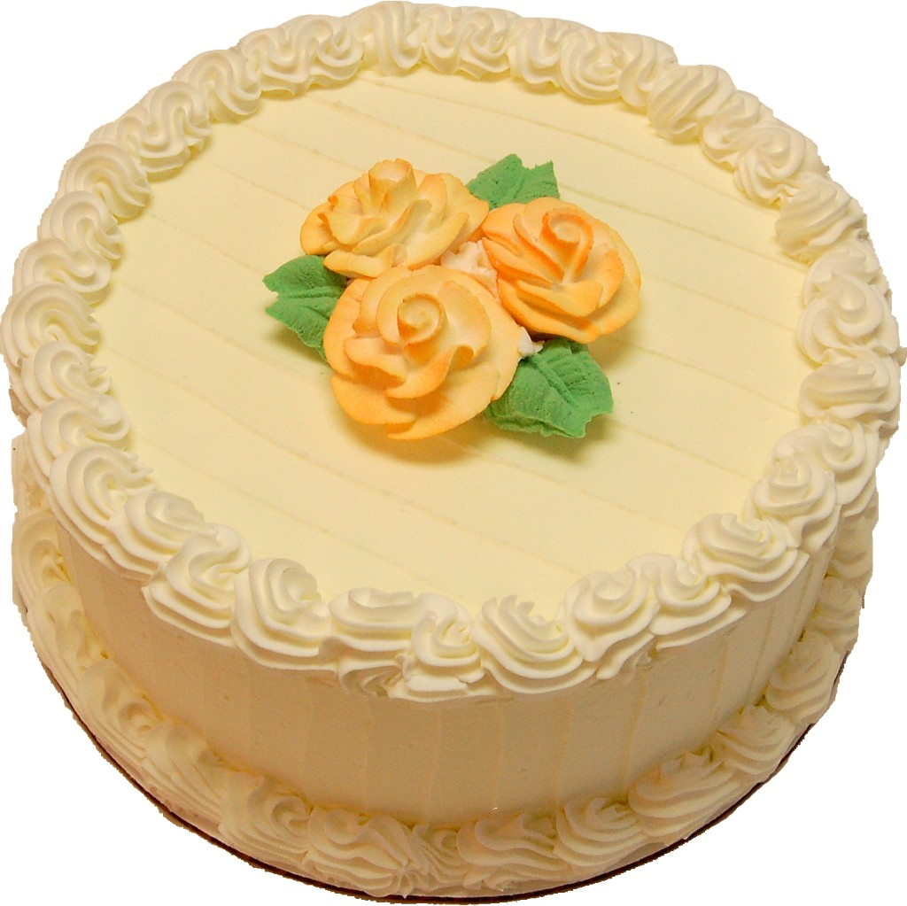 Lemon Designer fake cake
