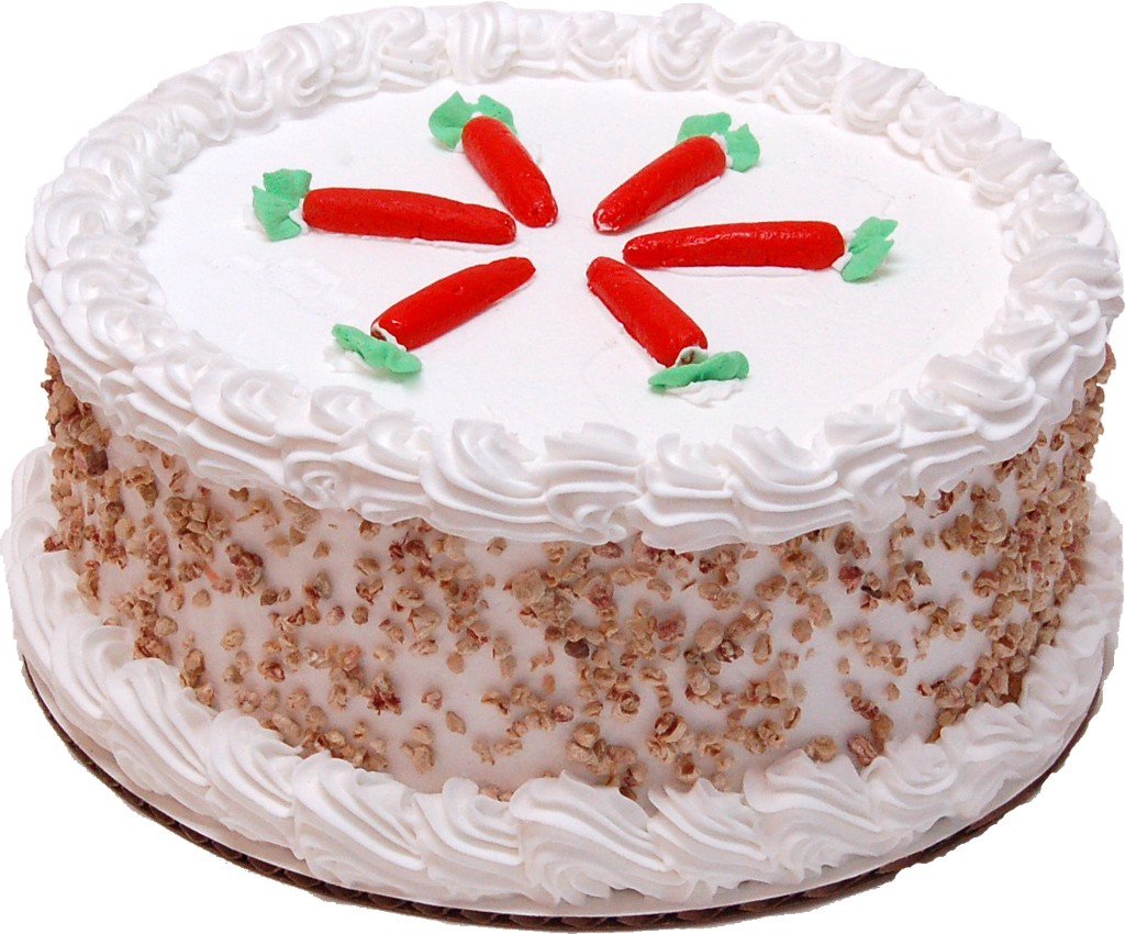 Carrot Fake Cake Passion Cake side